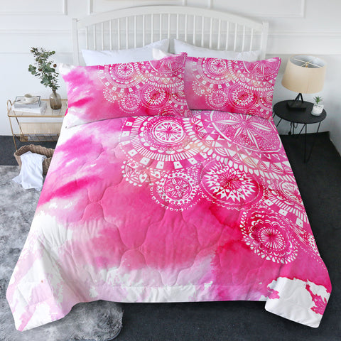 Bohemian Delight New Quilt Set