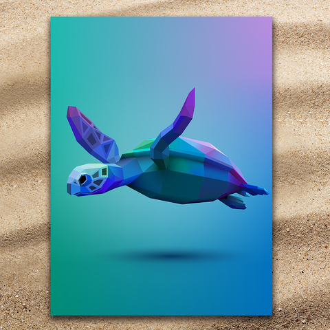 Sea Turtle Glide Jumbo Towel-🇦🇺 Australian Coastal Passion