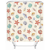 By The Seashore Shower Curtain-Shower Curtain-Australian Coastal Passion
