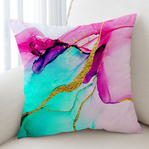 Coastal Pillow Cover-Anse Source D'Argent Pillow Cover-Coastal Passion