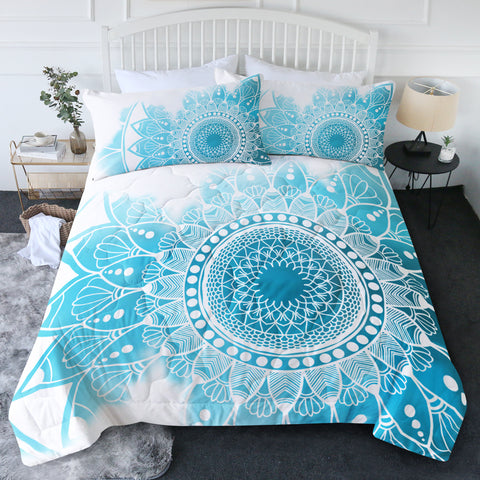 Bohemian Hues & Blues New Quilt Set