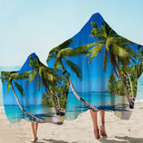 Coastal Hooded Towel-Summer in Saint Thomas Hooded Towel-Coastal Passion