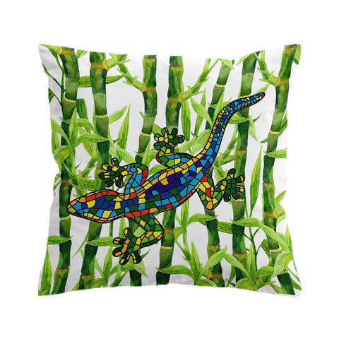 Bamboo Gecko Cushion Cover-🇦🇺 Australian Coastal Passion