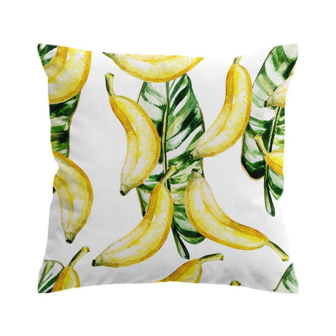 Banana Beach Cushion Cover-🇦🇺 Australian Coastal Passion