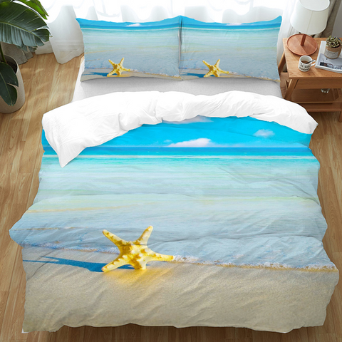 Beach Please Doona Cover Set