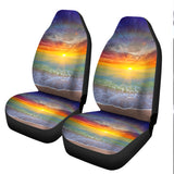 Sunset Beach Car Seat Cover