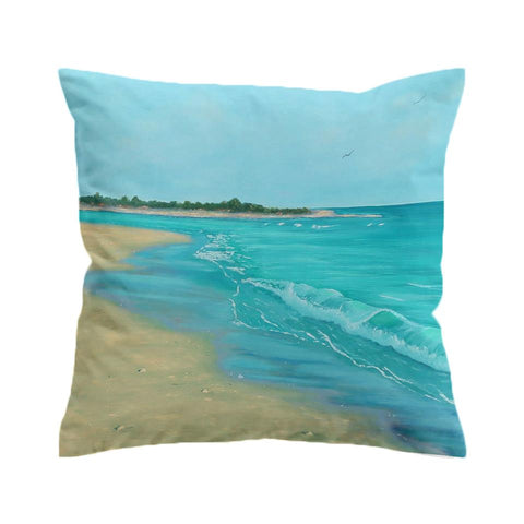Best Escape Beach Painting Cushion Cover-🇦🇺 Australian Coastal Passion