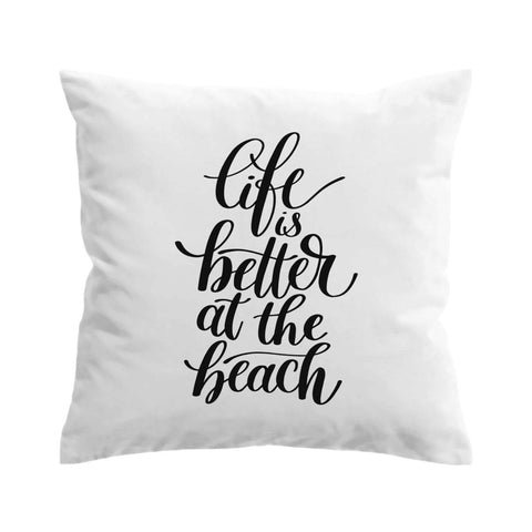 Better at the Beach Cushion Cover-🇦🇺 Australian Coastal Passion