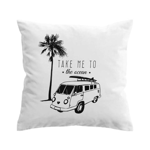 Drive Me to the Beach Cushion Cover-🇦🇺 Australian Coastal Passion
