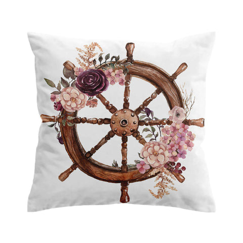Flowery Helm Cushion Cover-🇦🇺 Australian Coastal Passion