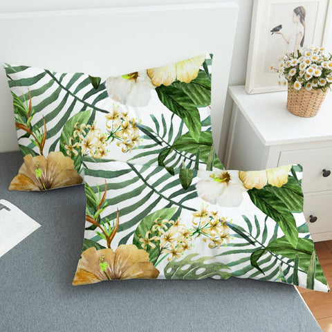 Hibiscus Tropics Pillowcase