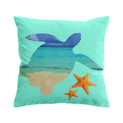 Honu Bay Cushion Cover-🇦🇺 Australian Coastal Passion