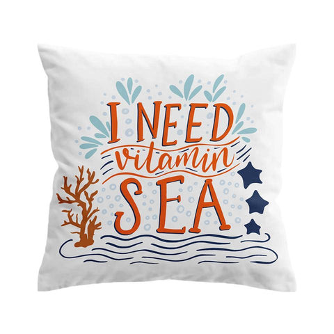 I Need Vitamin Sea Cushion Cover-🇦🇺 Australian Coastal Passion