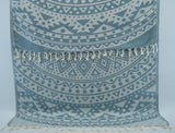 Coastal -Teal Blue Mandala 100% Cotton Towel-Coastal Passion