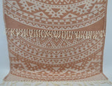 Coastal -Brown Mandala 100% Cotton Towel-Coastal Passion