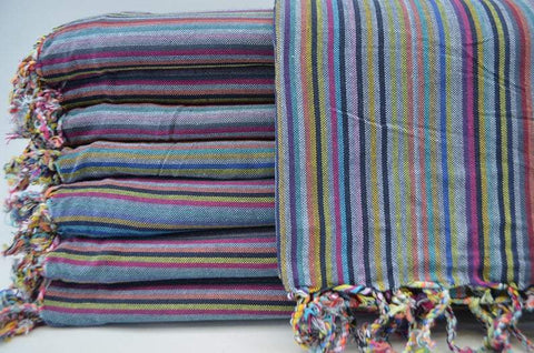 Coastal -Rainbow 100% Cotton Towel-Coastal Passion