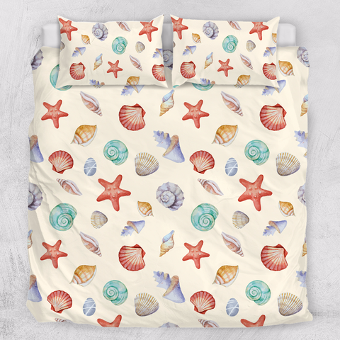 By The Sea Shore Doona Cover Set-Doona Quilt Cover Set-Australian Coastal Passion