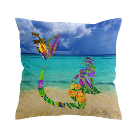 Mermaid Bay Cushion Cover-🇦🇺 Australian Coastal Passion