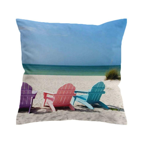 Our Happy Place 2 Cushion Cover-🇦🇺 Australian Coastal Passion