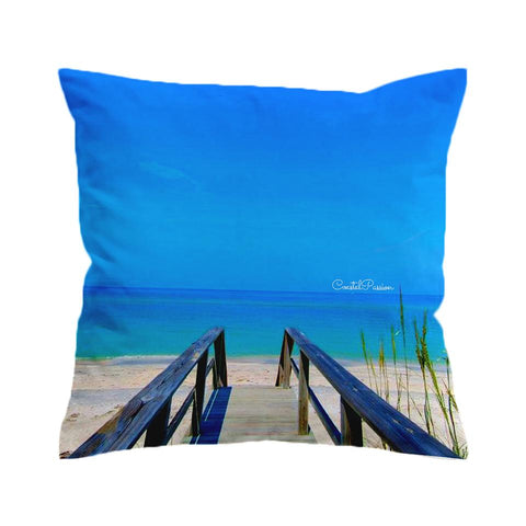 Path to Happiness Cushion Cover-🇦🇺 Australian Coastal Passion
