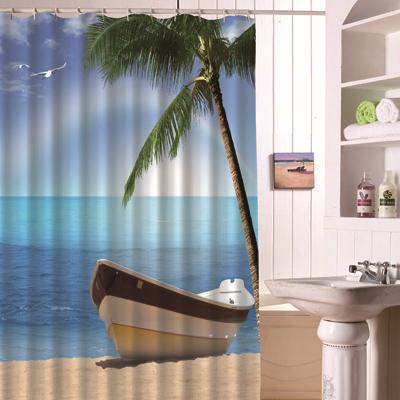 Time to Relax Shower Curtain-Shower Curtain-Australian Coastal Passion