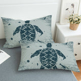 Sea Turtle Treasure Pillowcase