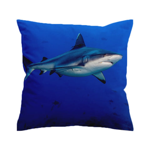 Shark Cushion Cover-🇦🇺 Australian Coastal Passion