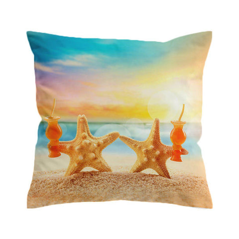 Starfish Friday Cushion Cover-🇦🇺 Australian Coastal Passion