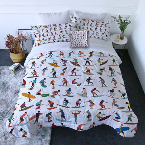 Surf World Quilt Set