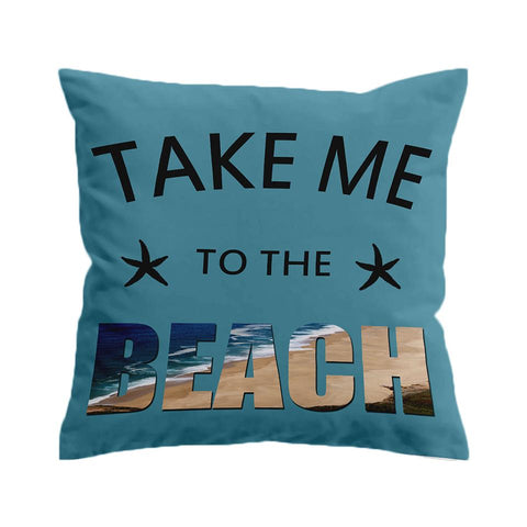 Take Me to the Beach Cushion Cover-🇦🇺 Australian Coastal Passion