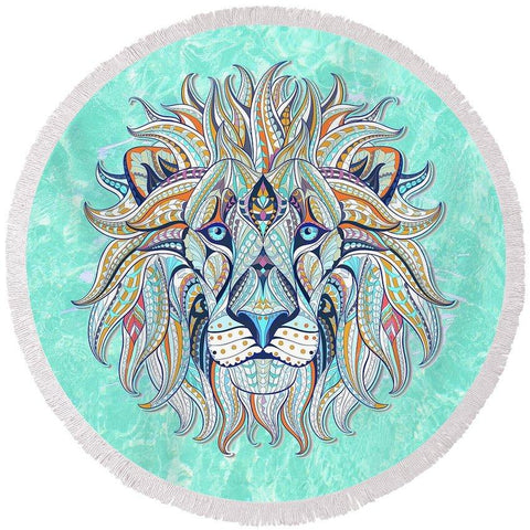 The Original Lazy Leo Round Beach Towel-Round Beach Towel-Adult: 150 cm diameter-Australian Coastal Passion