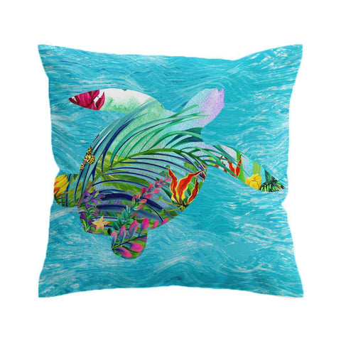 Tropical Bay Cushion Cover-🇦🇺 Australian Coastal Passion
