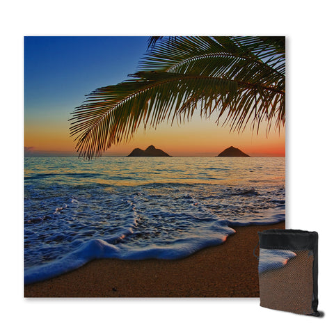 Tropical Sunset Sand Free Towel