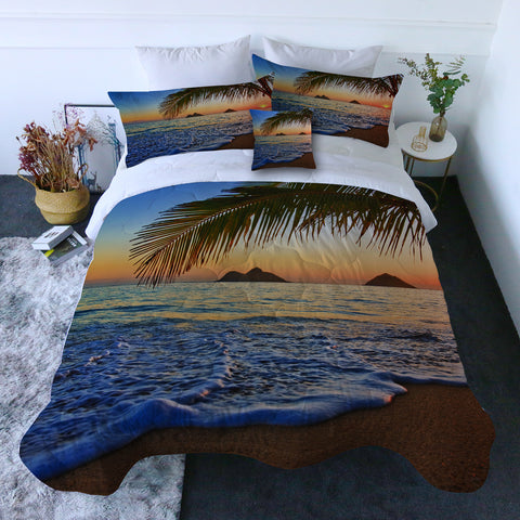 Tropical Sunset Quilt Set