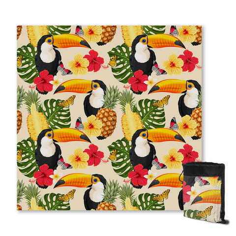 Tropical Toucan Sand Free Towel