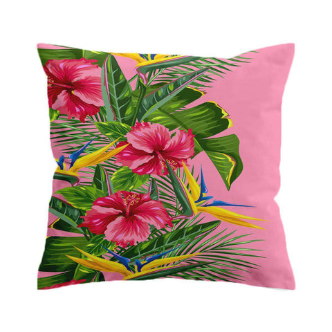 Tropical Weekend Pink Cushion Cover-🇦🇺 Australian Coastal Passion