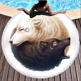 Wild Spirit Round Beach Towel Collection-Round Beach Towel-Adult: 150 cm diameter-Wild Spirit 9-Australian Coastal Passion