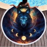 Wild Spirit Round Beach Towel Collection-Round Beach Towel-Adult: 150 cm diameter-Wild Spirit 11-Australian Coastal Passion