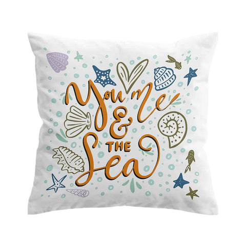 You, Me and the Sea Cushion Cover-🇦🇺 Australian Coastal Passion