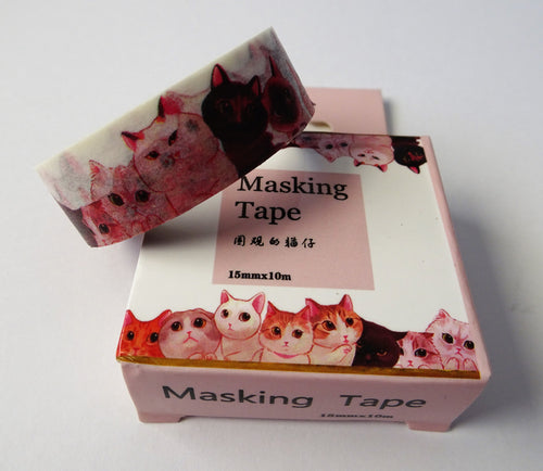 Cats galore...Cat breeds Washi Tape - A must for any cat lovers.