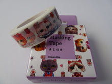 Cat Washi Tape - A must for any cat lover - would look great in your Bullet Journal