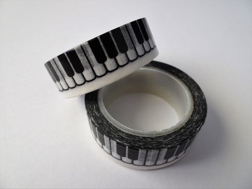 Keyboard Washi Tape - Ideal for Bullet Journaling and Scrapbooking