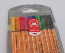 Stabilo Point 88 Fineliners - 10 Pack.  Perfect for Bullet Journaling.