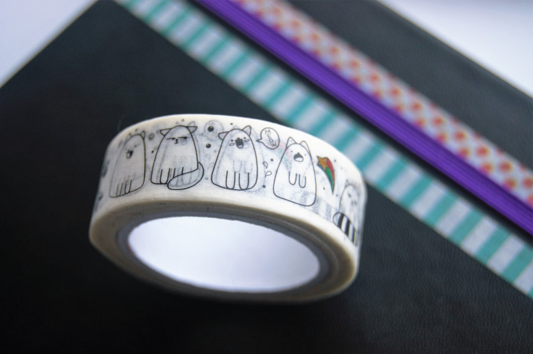 Cute Cat Washi Tape