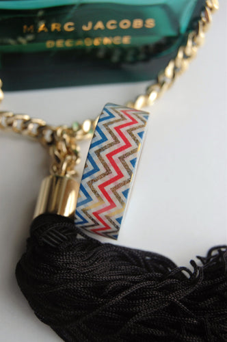 Metallic Multi-coloured Chevron Washi Tape