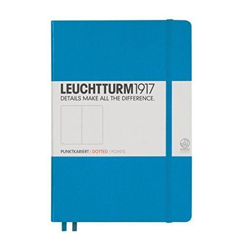 Leuchtturm 1917 Dotted Notebook A5 Medium - Azure