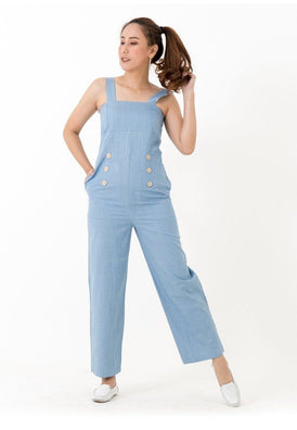 92080 Jumpsuit Denim bib