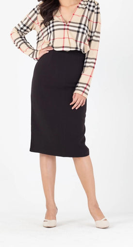 84009 Kissing Midi Skirt