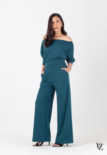 92161 Jumpsuit  Bat-sleeve