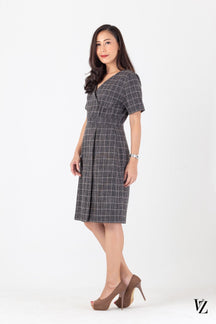 91399 Multi Scott Dress